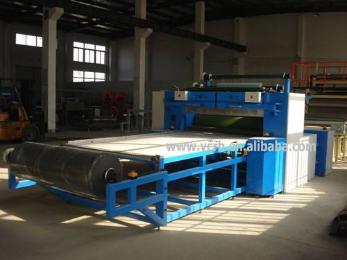 Hot press laminating machine for EVA and Foam