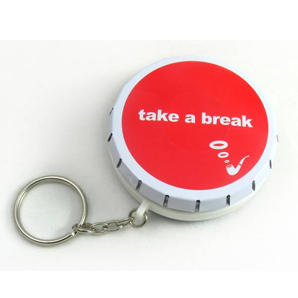 cute click clack tin box with lock