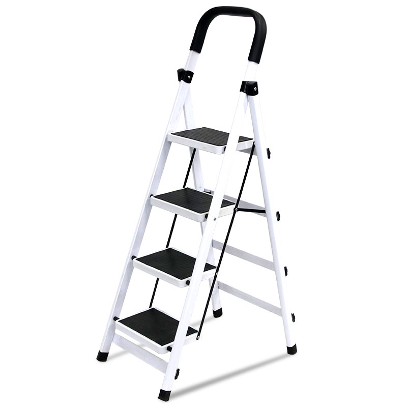 2017 Durable and Cheap Price Wide Step Folding Ladder