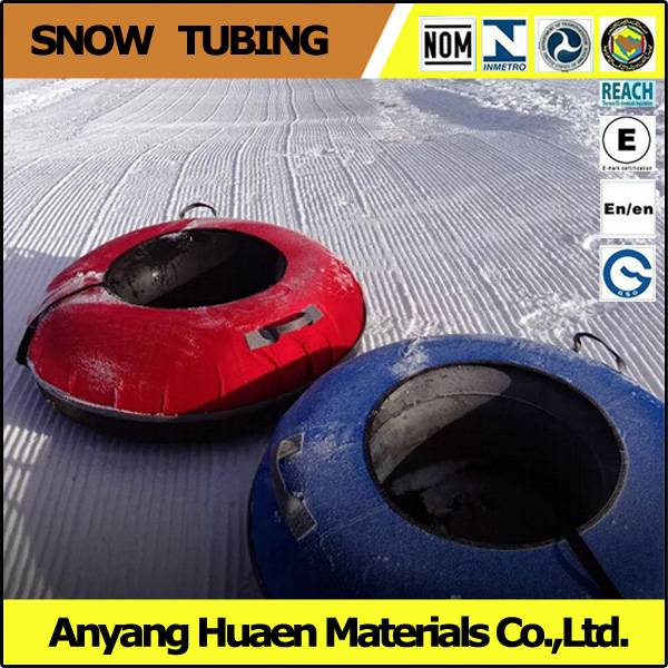 Summer tubing track