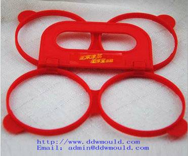 DDW 4 hole/pack 60mm plastic buckle plastic handle for zip top can