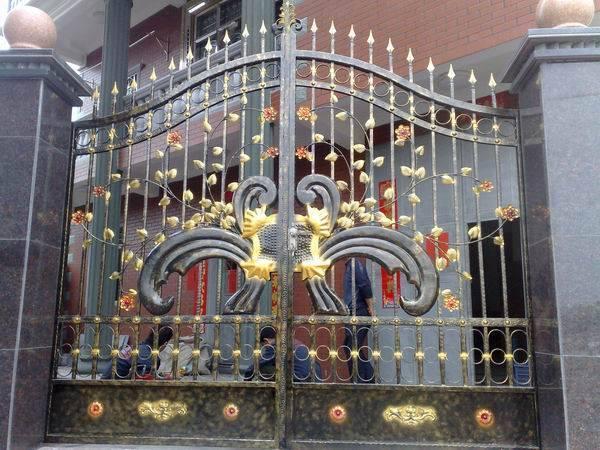 Best selling iron swing gate