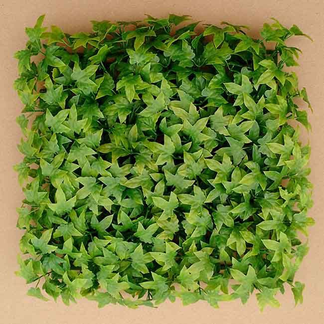 Wall Decorative Plastic Indoor Artificial Plant Ivy Boxwood Mat