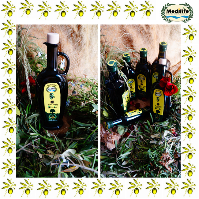 Extra Virgin Olive Oil 500 ml Hannibal Dark Glass Bottle