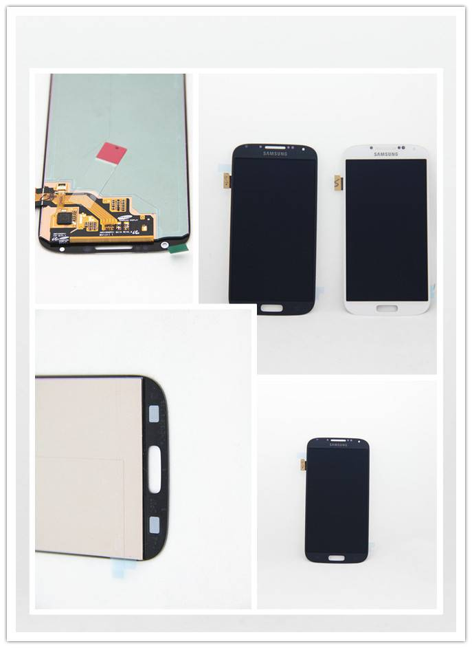 For Samsung S4 LCD & digitiser  assembly white/black
