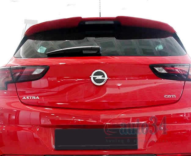 Opel Astra K (HB - 5 doors) Spoiler