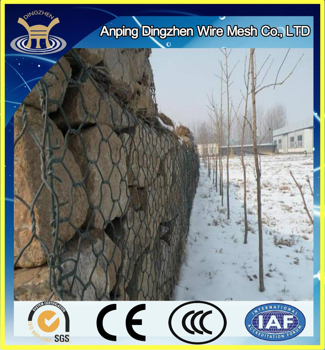 China gabions fence for sale