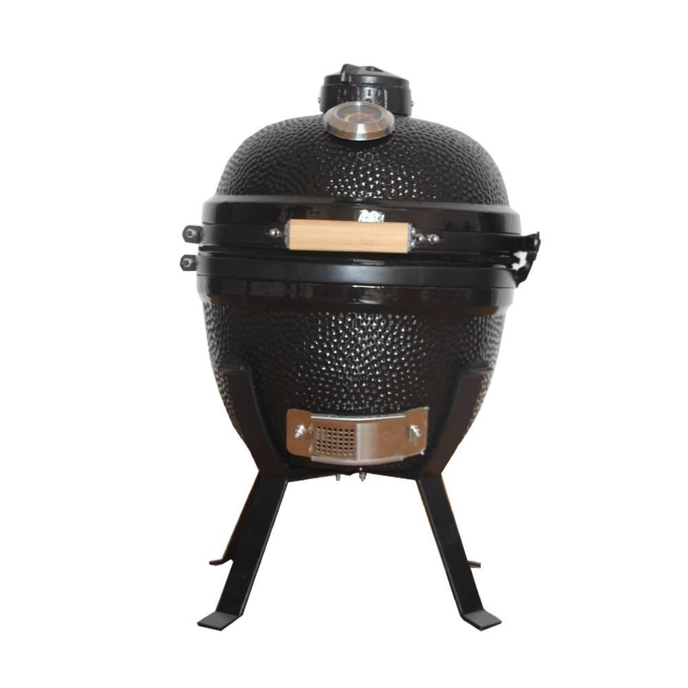 "China factory versatile 14"" ceramic kamado/barbecue bbq grills"
