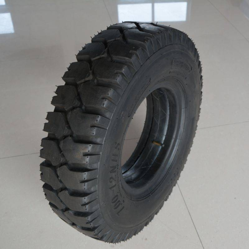 forklift airless tyre 7.00-12 in ports and steel mill