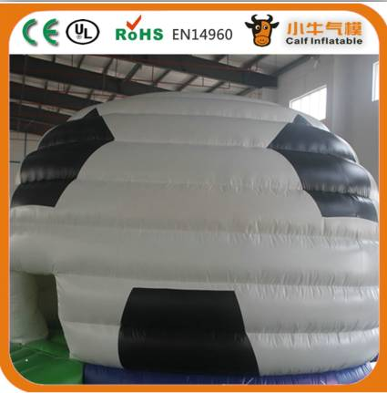 fashion inflatable football bouncer house, inflatable dome bouncer for sale