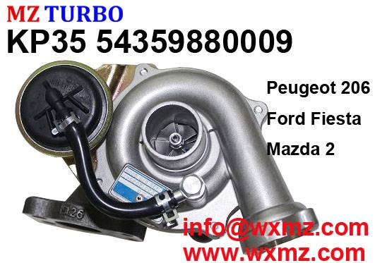 MZ 13C TURBO KP35 54359880009 turbocharger suit for Peugeot Ford Mazda DV4TD Engine
