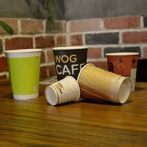 Customized Single Wall Paper Cup for Drinks