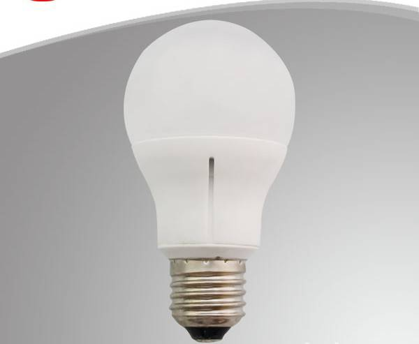 Ceramic A60. LED Bulb light.   6.5W