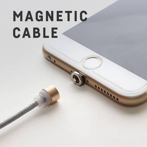 Magnetic Quick Lightning USB Charger Cable High Speed