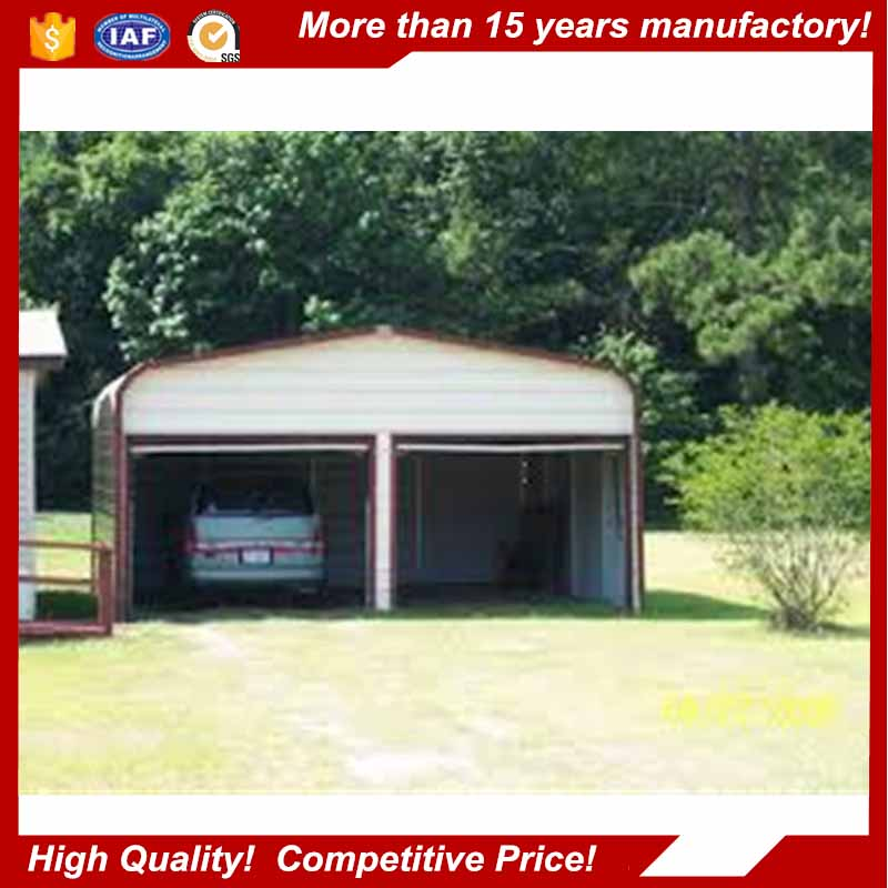 Prefab Steel Structure Portable Garage for Car Parking
