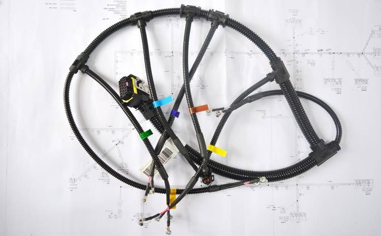 engineering machinery cable harness