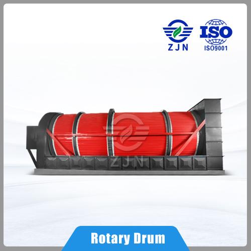 ZJN Series rotary harrow rolling triple level multi-loop dryer for Sewage Sludge Drying