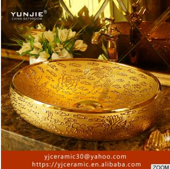 imitate marble ceramic Sinks Bathroom art basin