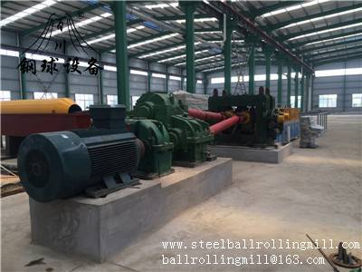 Hot Rolled Steel Ball Skew Rolling Mill