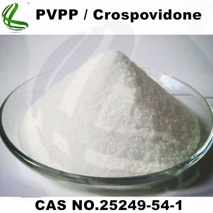 Pharma Grade Crospovidone/ Crosslinked PVP/ PVPP As Drug Disintegrant
