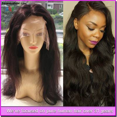 Grade 7a Virgin Brazilian Human Hair Full Lace Wig Wholesale Brazilian Hair 100% Human Hair Wig