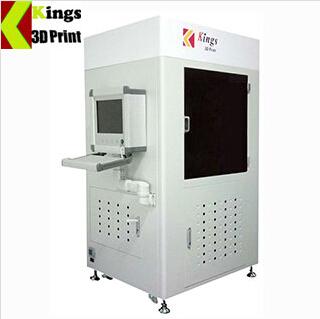 KINGS8500-D Industrial SLA 3D Printer Big Size Plastic Printing Machine