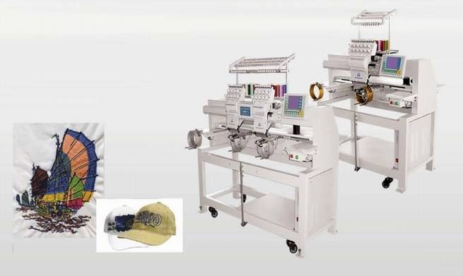 GG729B cylinder and flad embroidery machine