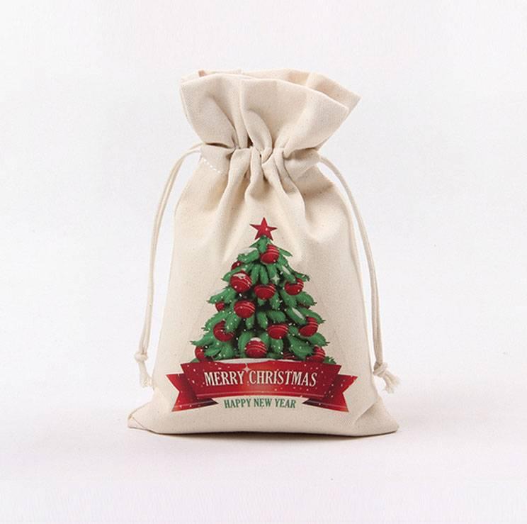 Muslin Bag/ Cotton Pouch/ Wedding Bag/ Gift Bag/ Small Drawstring Bag