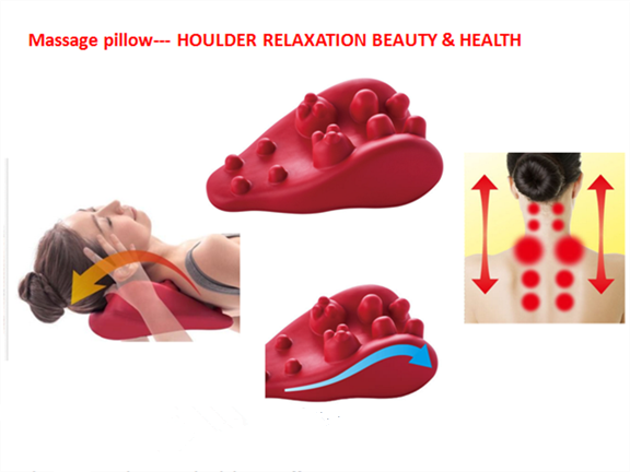 Massage pillow--- HOULDER RELAXATION BEAUTY & HEALTH