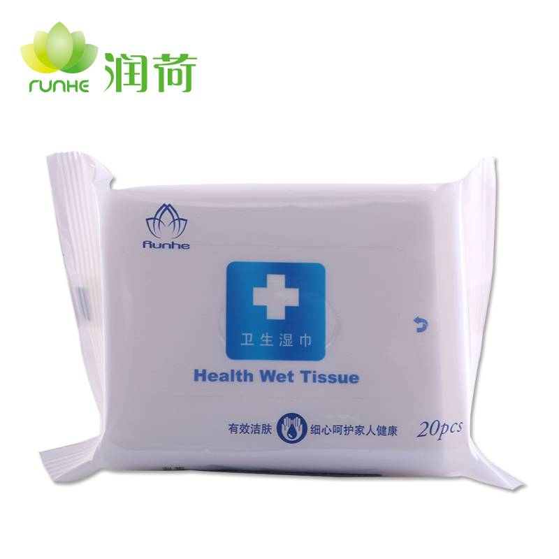 High Quality 20pcs Wet Wipes/ISO confirmed Manufacturer Form China
