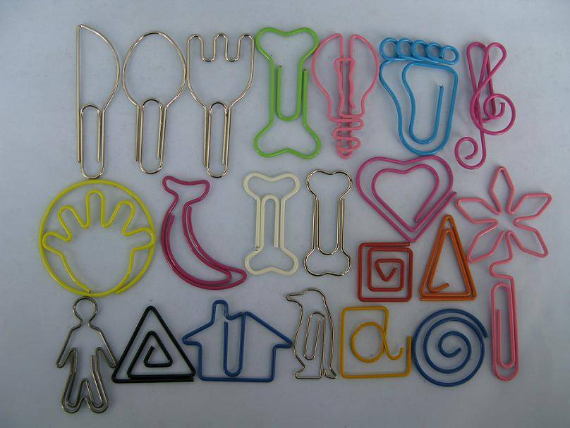 Paper Clips, Book Markers, Memo Clips, Card Clips, Clips