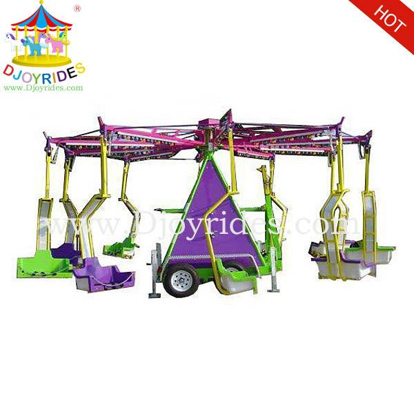 Amusement Park Games Swing Rides with Trailer