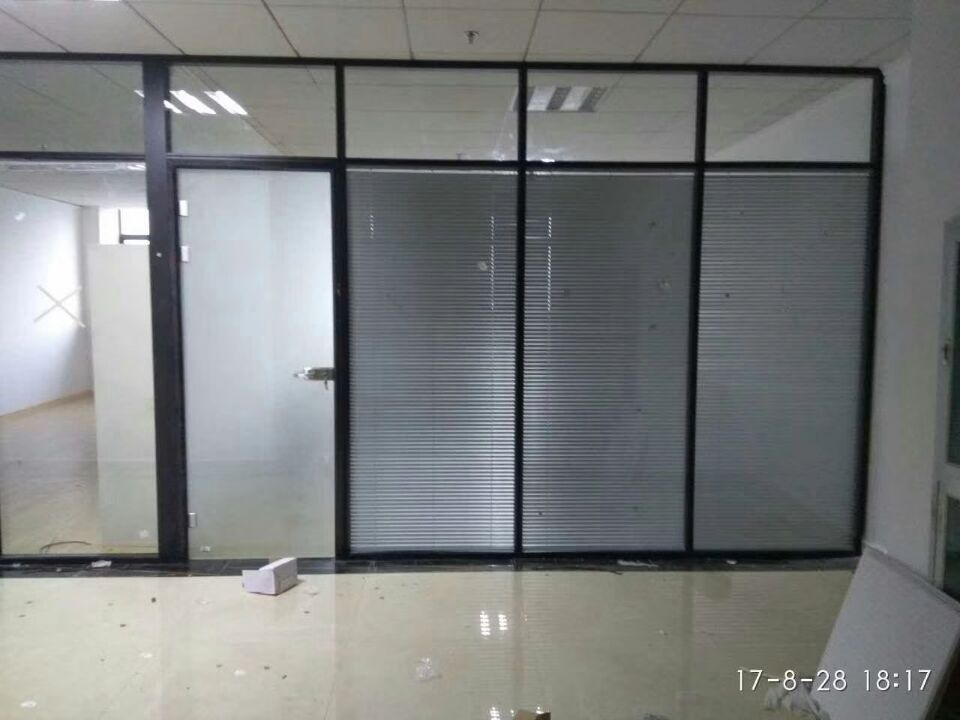 Aluminium Divider Partition /Office Glass Dividers Office Dividing Cubicle Screen