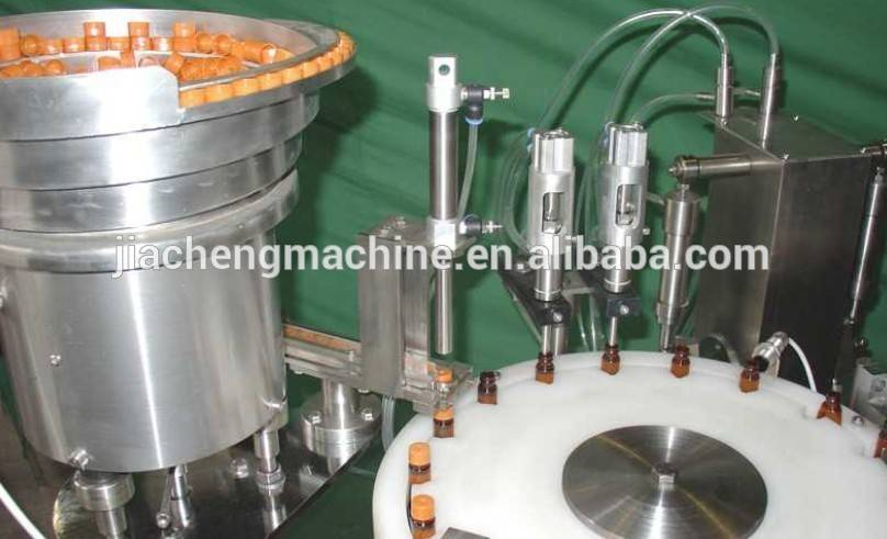 Rotary 15ml small bottle filling machine