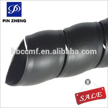 Plastic hose protective sleeve