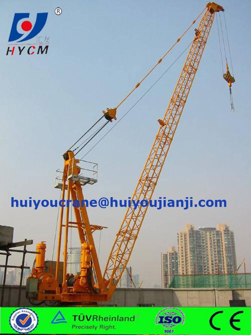 2016 new product derrick crane for port rental