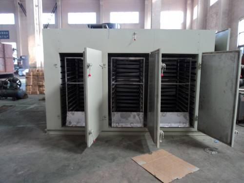 Hot air fruit and vegetable dryer