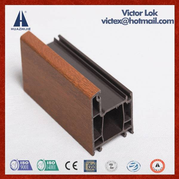 popular and anti ultraviolet radiation profiles upvc ,pvc profile extrusion