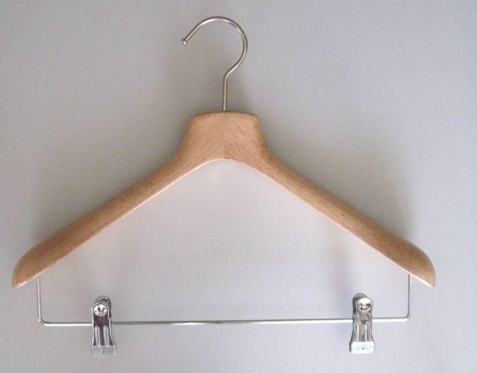 Wood Import Clothing Hangers - clothing racks