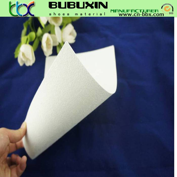 Nonwoven toe puff chemical sheet shoe repair materials