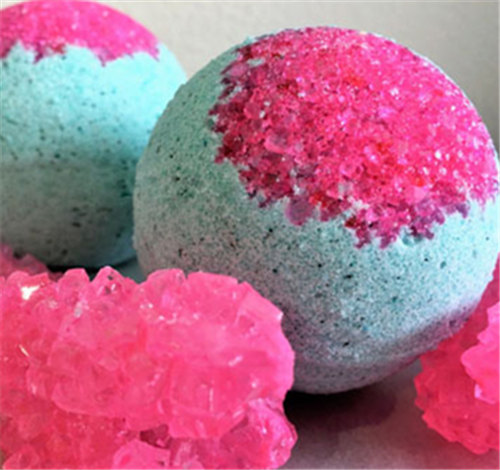 Crystal Bath Bombs Manufacture Supply With Private Logo
