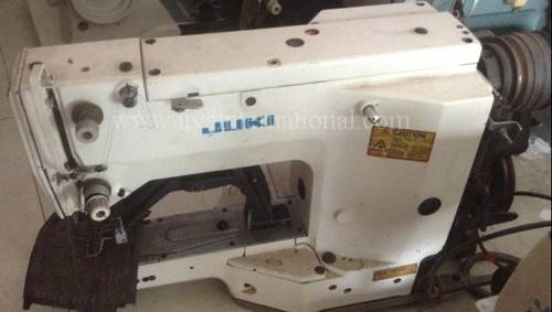 used second hand reconditioned JUKI 1850 bartacking industrial sewing machine made in Japan