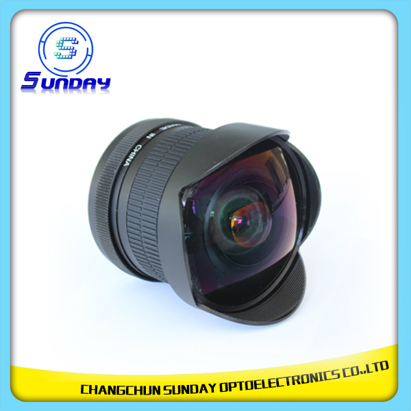Super Wide Angle Fisheye Lens 8mm f/3.5 For Nikon DSLR Camera Lenses