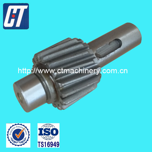 Transmission Gear Spur Gear with High Precision for Heavy Trucks