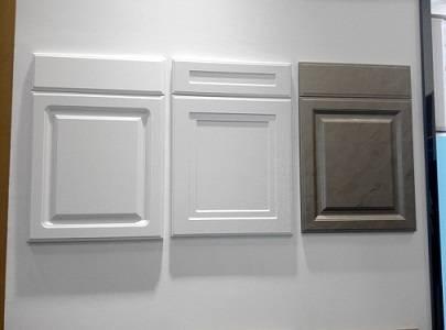 antique MDF PVC cabinet door