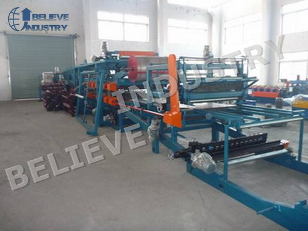 Rockwool Insualted Sandwich Panel Production Line