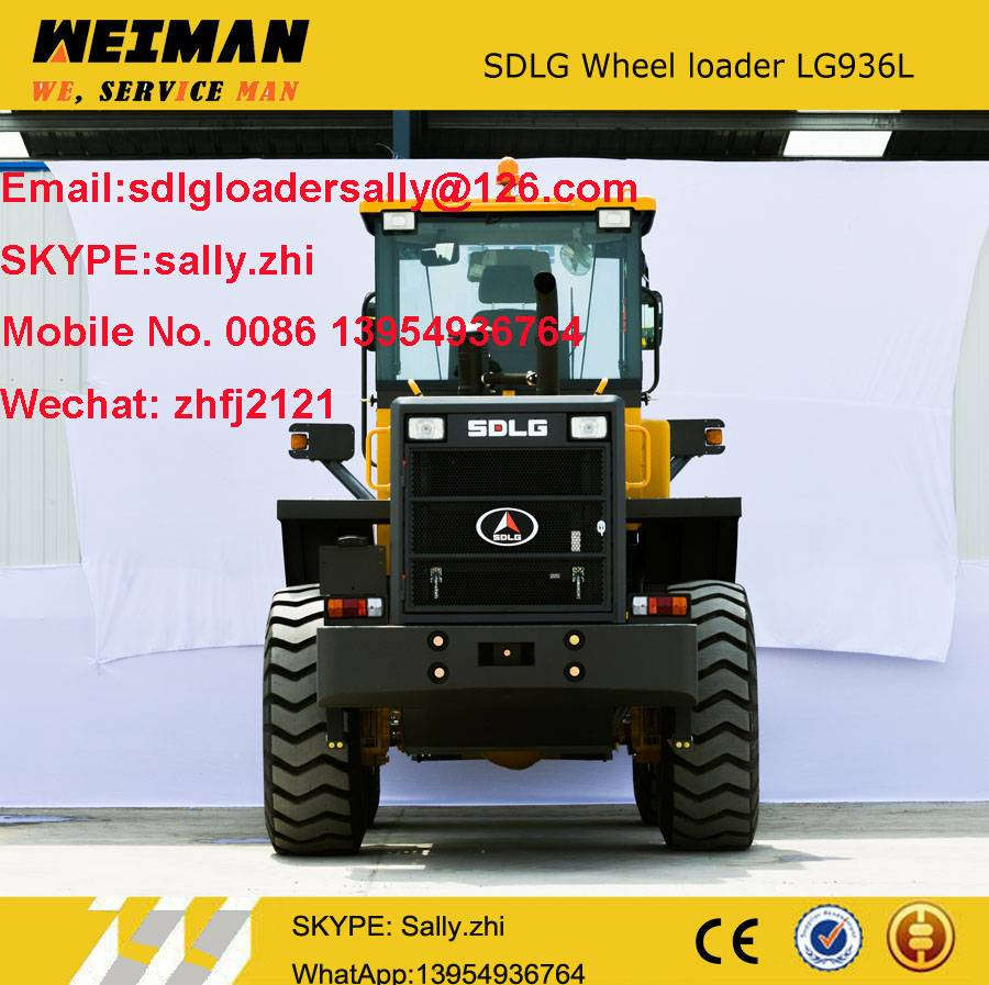 sdlg wheel loader LG936L, wheel loader price, loader for sale
