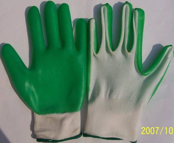 PVC Palm Coated Gloves (PM-GPC-03)