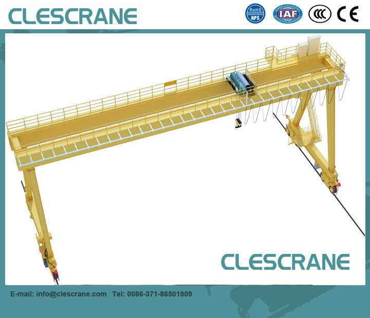 CWG Series A type Double Beam Gantry Crane 5-320T For loading and unloading goods $1000-$20000