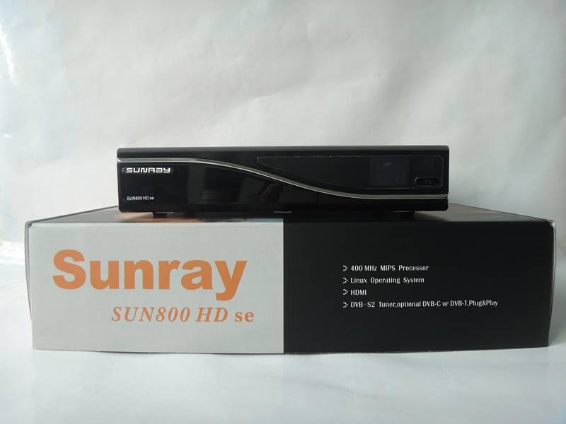 Sunray 800 Se HD Satellite TV Receiver